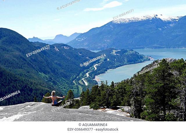 Stawamus Chief Summit, Garibaldi Provincial Park, British Columbia, Canada