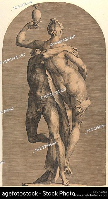 Mercury Abducting Psyche, ca. 1622. Creator: Adriaen Collaert
