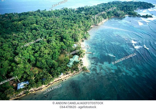 Solarte Island. Bocas del Toro. Panama