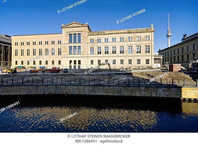 New Museum on Museum Island, Berlin, Germany, Europe