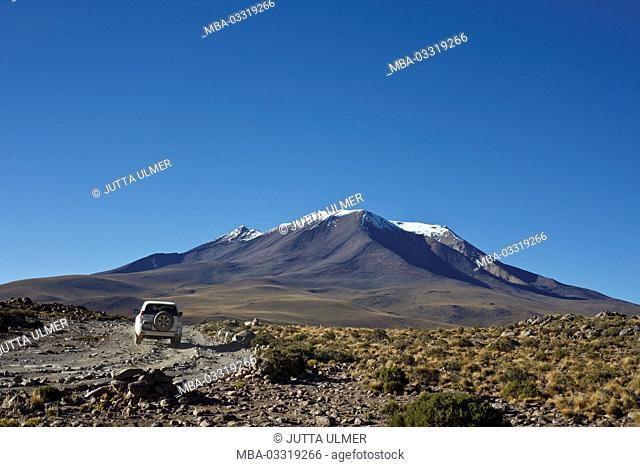 Bolivia, Los Lipez, car