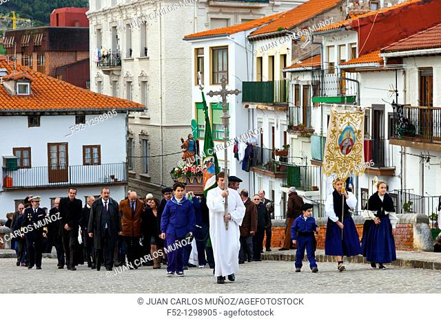 Festivity of St. Andrew, Castro Urdiales, Cantabria, Spain