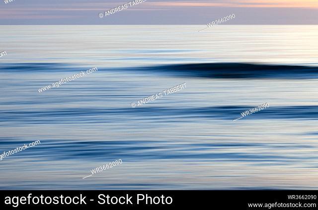 Germany, View of North Sea at Sylt island