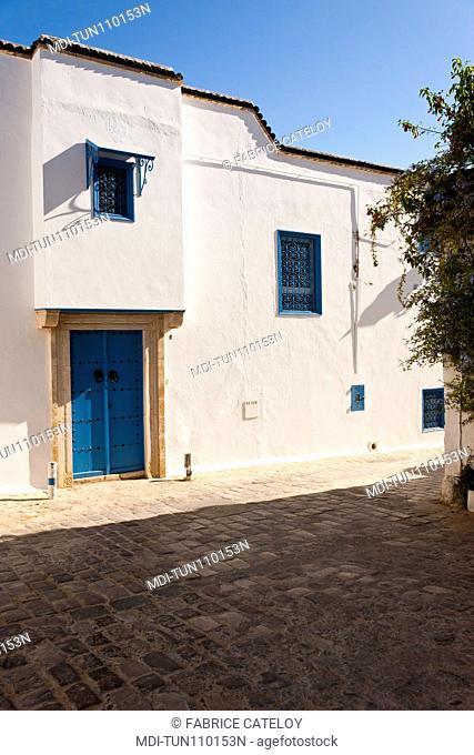 Tunisia - Sidi Bou Said - House in the village