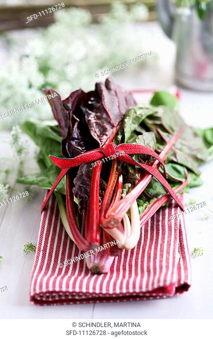 A bunch of chard