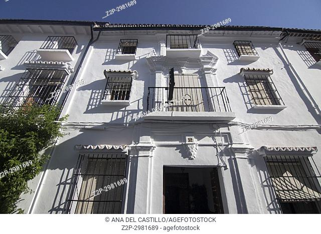 Grazalema is one of the most beautiful villages in Spain Cadiz mountains Andalusia