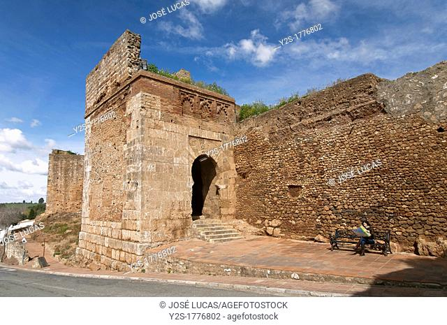 Walls and Door of the Ox, Niebla, Huelva-province, Spain