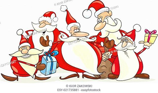 santa clauses group