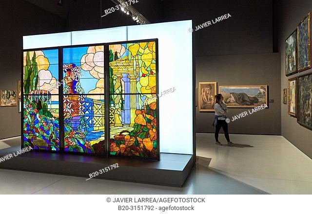 National Museum of Catalan Art, Museu Nacional d Art de Catalunya, MNAC, Barcelona, Spain, Europe