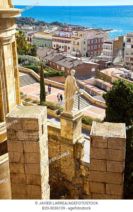 Praetorium and Roman Circus, History Museum of Tarragona (MHT), Tarragona City, Catalonia, Spain, Europe