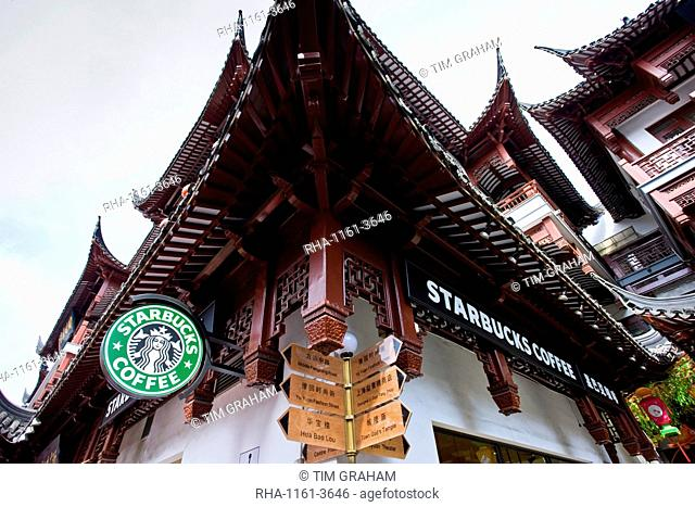 Starbucks Coffee Sign Logo Stock Photos And Images Agefotostock