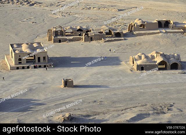 Iran, Yazd, Unesco World Heritage Site, Ruined Zoroastrian chapels