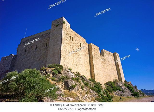 Miravet Templar Castle, Tarragona province, Catalonia, Spain