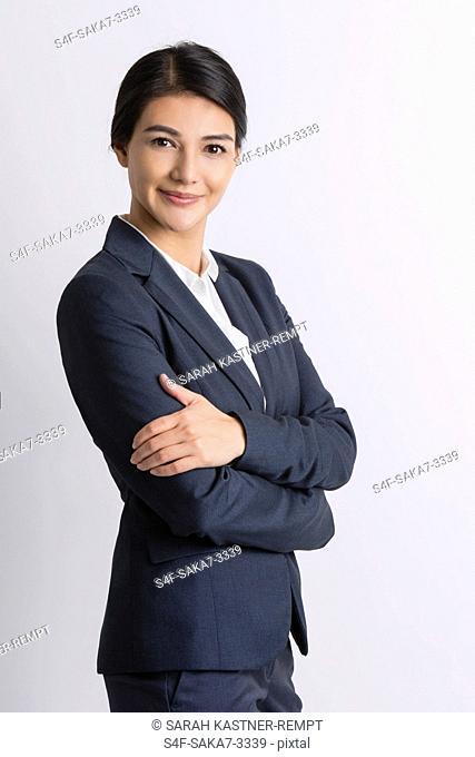 Portrait einer selbstbewussten Geschäftsfrau