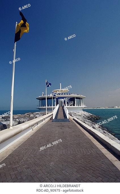 Harbour of Jumeira Beach Hotel with restaurant Jumeira Beach Road Dubai United Arab Emirates