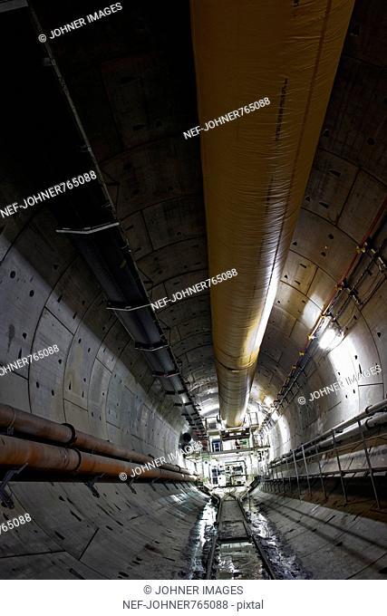 Lining of the Hallandsas Tunnel, Sweden