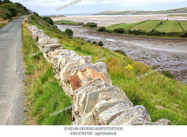 Trek and Hiking Sign, Maghera Beach, Ardara, Ireland