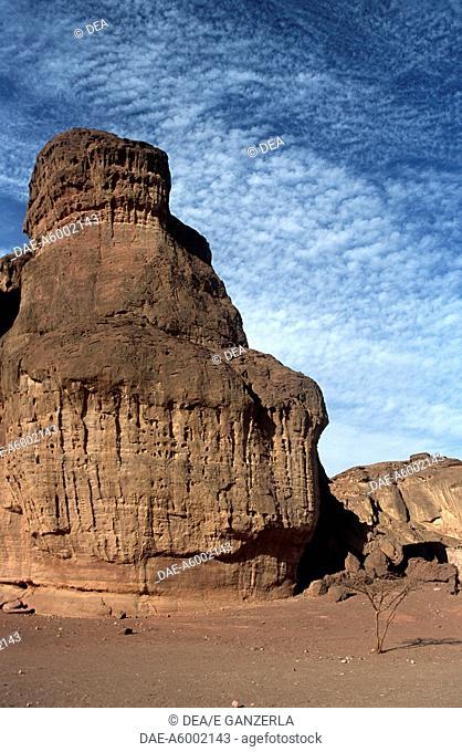 Israel - Negev Desert - Timna Valley Park - Eroded sandstone formations