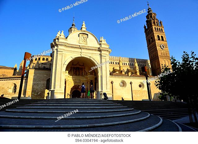 Cathedral of Our Lady of La Huerta, Tarazona, Zaragoza, Spain
