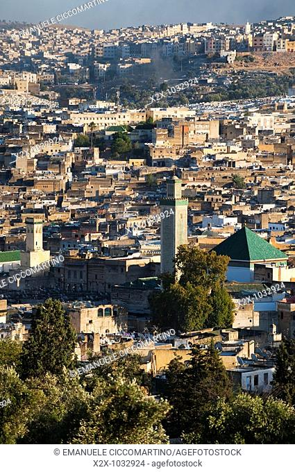 Kairaouine Mosque in the medina, Fez, Morocco