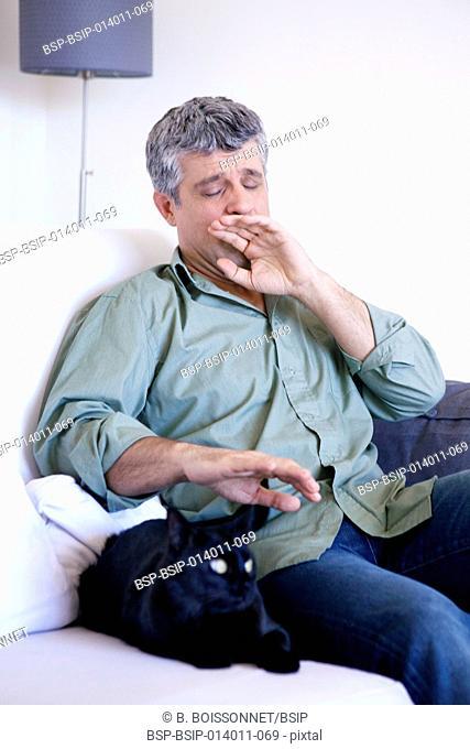 Allergy, man