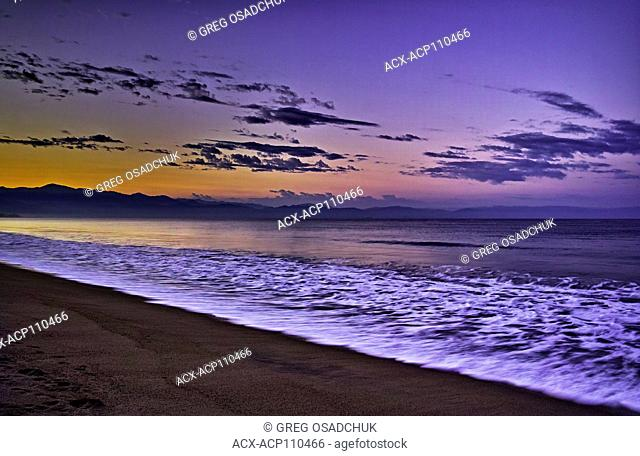 Sun rise, Bay of Banderas, Bucerias, Mexico