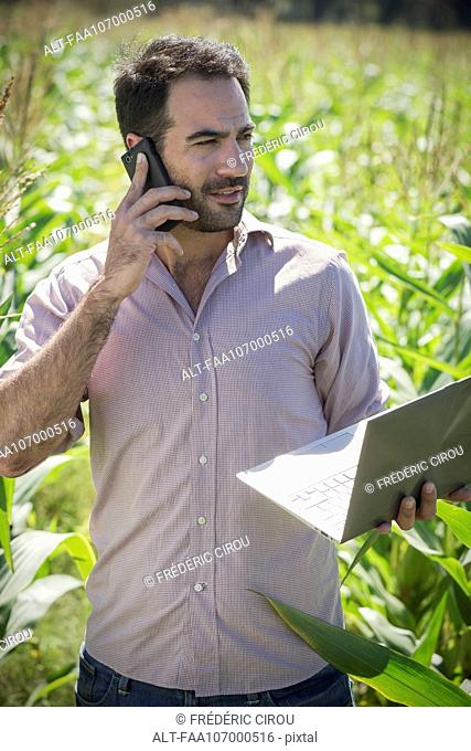 Advances in technology enhance farmers' ability to monitor agricultural production
