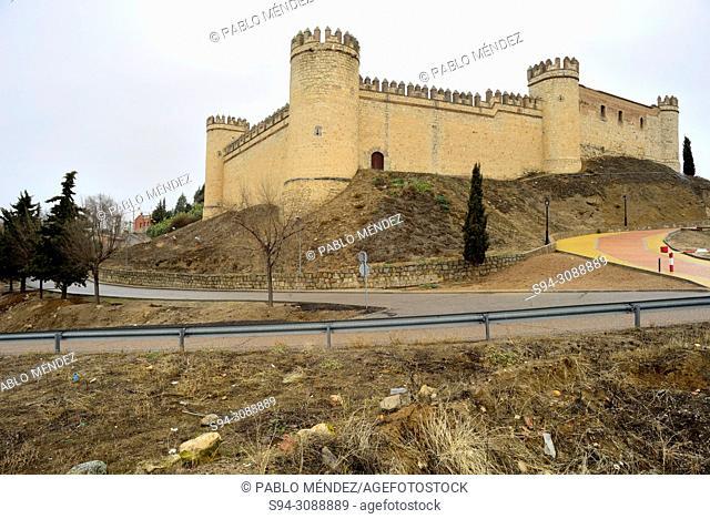 Castle of La Vela in Maqueda, Toledo, Spain
