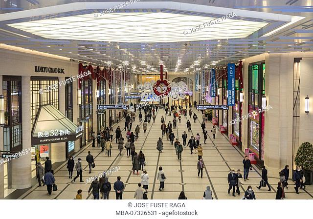 Japan Osaka City, Umeda Station