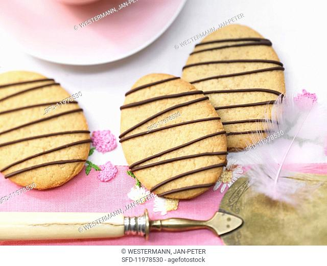Marzipan Easter biscuits