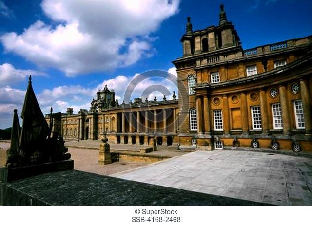 England, Near Oxford, Blenheim Castle