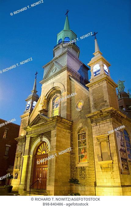 Montreal, Quebec, Canada, Notre Dame de Bon Secors