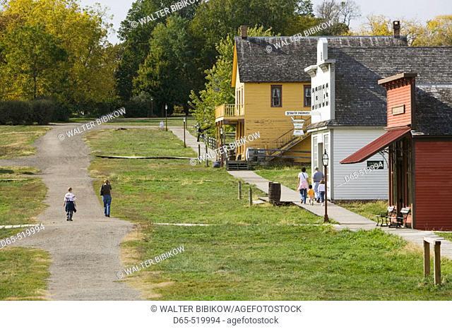 Living History Farms Museum. Buildings. Des Moines. Iowa. USA