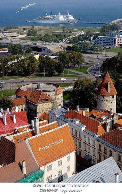 Fat Margaret bastion (16th c.). Tallinn. Estonia