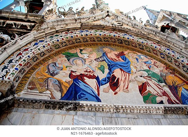 Basilica di San Marco, Piazza San Marco, San Marco, Venice, Veneto, Italy, Europe