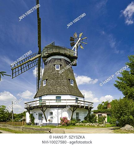 Mill in Grevesmühlen, Mecklenburg Western Pomerania, Germany