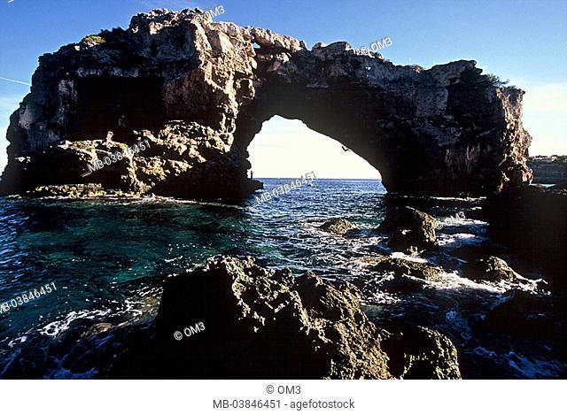 Chris Sharma, pro-climbers, personality-rights, Spain, heed Majorca sea climbers series, Balearen, island rock-bow Mediterranean, coast, rock-coast