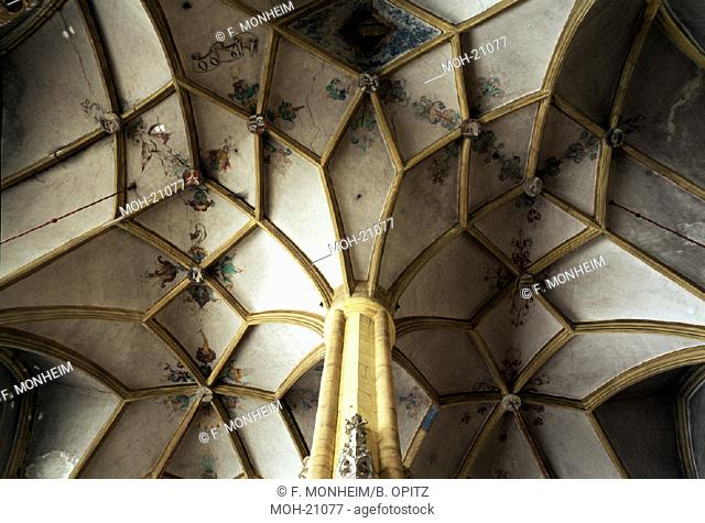 St. Marein bei Knittelfeld, Pfarrkirche/Gewölbe im Mittelschiff