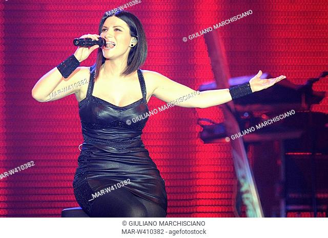 torino 2009, laura pausini in concert