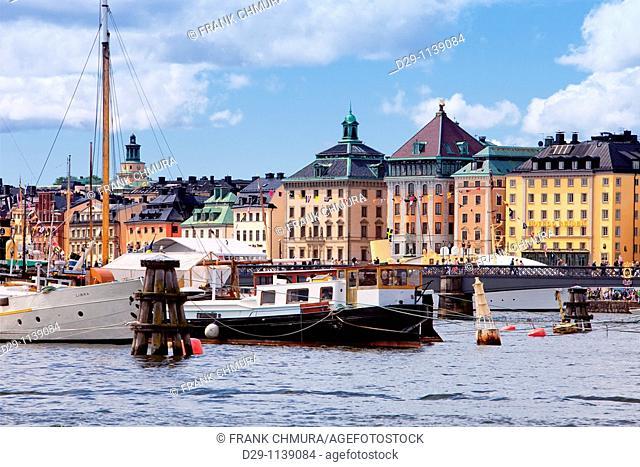 Sweden Stockholm The old Town