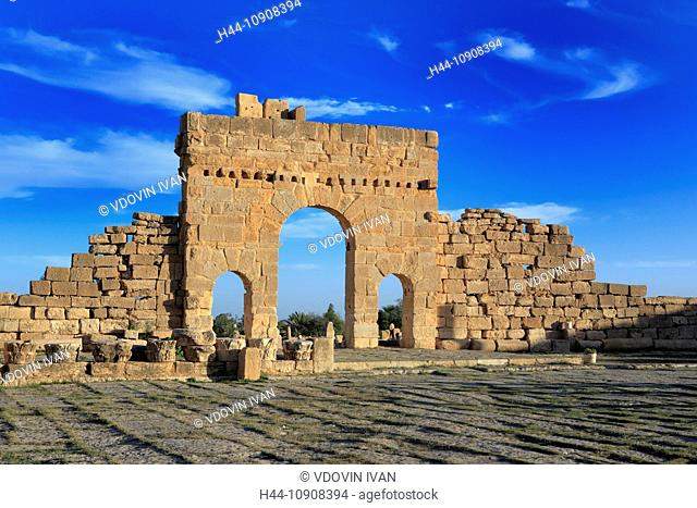 Africa, African, Maghreb, North Africa, North African, Tunisia, tourism, travel, destinations, tunisian, world locations, Architecture, building, Sbeitla