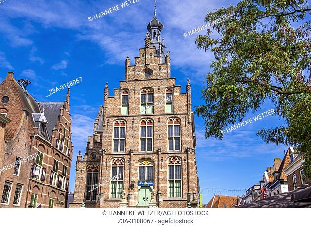 Late gothic Town Hall in Culemborg, the Netherlands, Europe