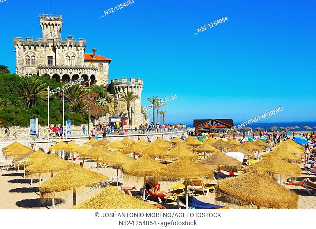Estoril, Forte da Cruz, Tamariz beach, Lisbon coast, Portugal, Europe