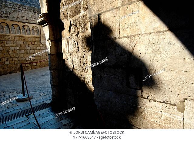 Access to Pile gate , Old Town, Dubrovnik  Croatia