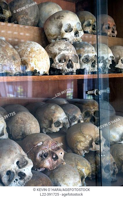 Toul Sieng Genocide Museum. Phnom Penh. Kingdom of Cambodia