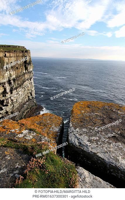 Noup Head, West coast, Westray, Orkney Islands, Scotland, United Kingdom / Noup Head, Westküste, Westray, Orkney Inseln, Schottland, Großbritannien