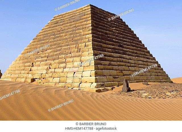 Sudan, pyramids Meroe, the Kingdom of Meroe existed in 1200 years, only to continue in the shape of the Kingdom of Nubia 1100 years