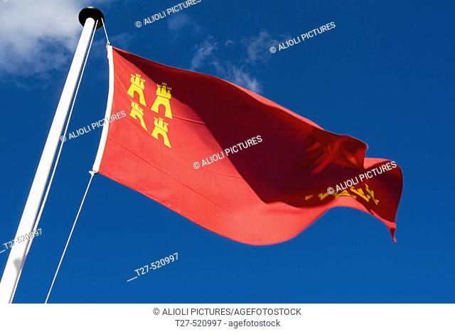 Murcia flag, Spain