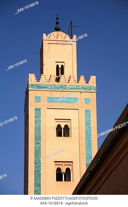 Ali Ben Youssef minaret, Marrakech, Morocco