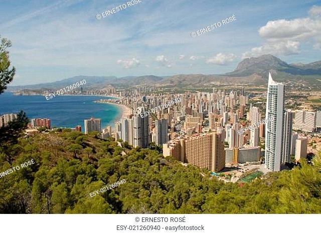 SPANIEN - Benidorm * Panoramabild